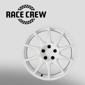 TYPE CS 18inch (WHT) M.C.O RACING WORK / 워크 경량 휠 (5h-100,5h-114.3)